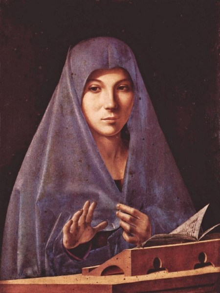 Antonello da Messina Virgen de la Anunciacion h 1476
