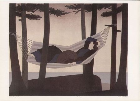 Will Barnet summer idyll