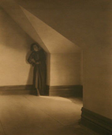 Betty in her attic ca. 1921 Edward Weston