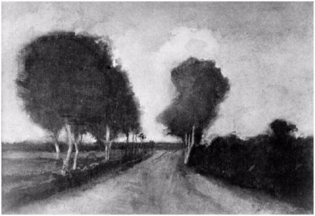 Country-Lane-with-Trees 1882