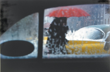 Saul Leiter - Red Umbrella - ca. 1955.jpg