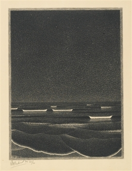 Mar fosforescente_Escher